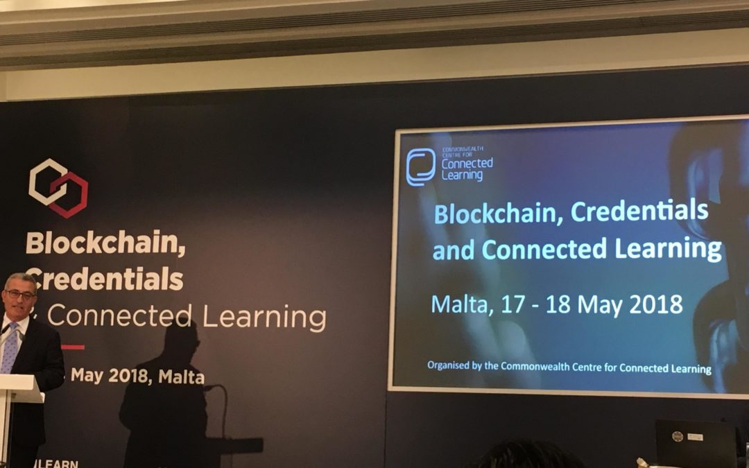 Malta: Blockchain Credentials and Connected Learning
