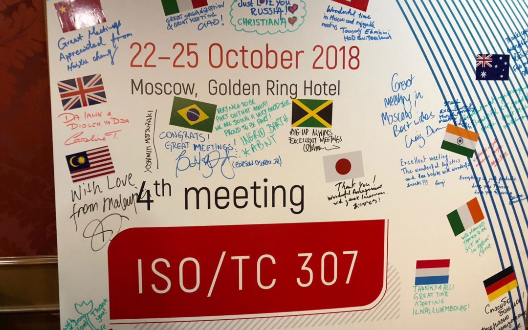 ISO TC307 Meeting in Moskou