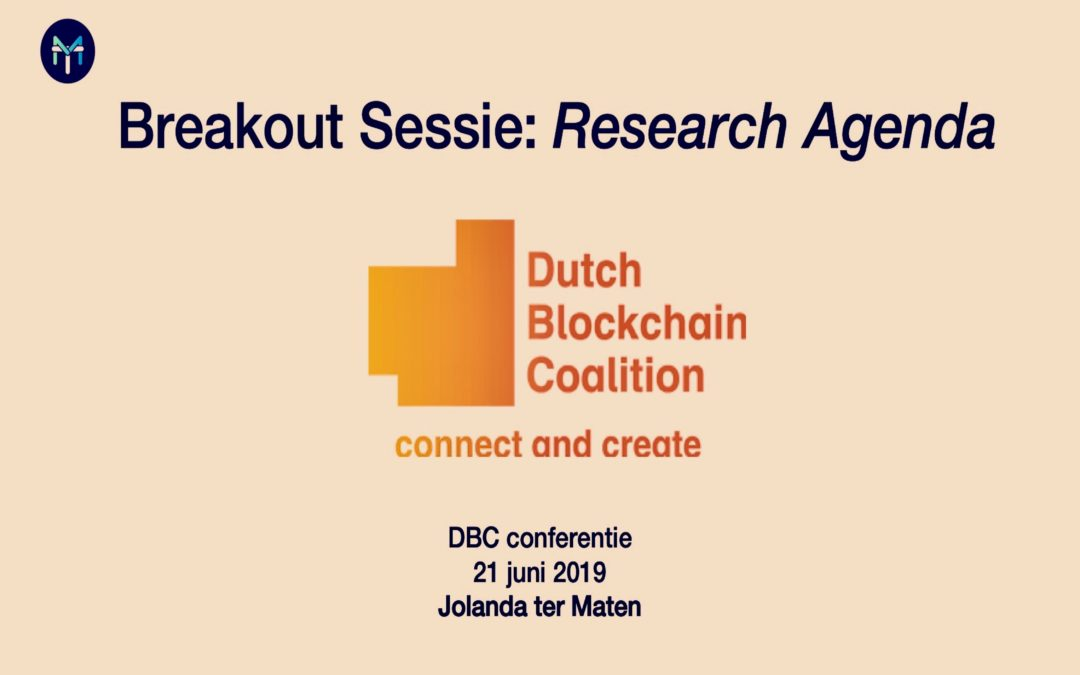 Dutch Blockchain Coalition – Conferentie