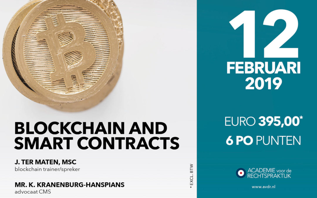 Blockchain & Smart Contracts Workshop AvdR